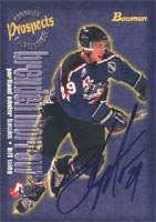 Brendan Morrow Portland Winter Hawks 1997 Bowman CHL Prospects Autographed Card - Rookie Card. This item comes with a certificate of authenticity from Autograph-Sports. PSM-Powers Sports Memorabilia