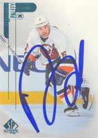 Zigmund Palffy New York Islanders 1997 Upper Deck SPx Autographed Card - Nice Card. This item comes with a certificate of authenticity from Autograph-Sports. PSM-Powers Sports Memorabilia