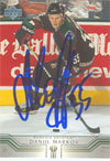 Danny Markov Phoenix Coyotes 2002 Upper Deck Autographed Card. This item comes with a certificate of authenticity from Autograph-Sports. PSM-Powers Sports Memorabilia