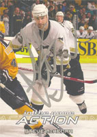 Steve McKenna Pittsburgh Penguins 2003 In The Game Action Autographed Card. This item comes with a certificate of authenticity from Autograph-Sports. PSM-Powers Sports Memorabilia