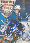 Arturs Irbe San Jose Sharks 1994 Fleer Flair Autographed Card. This item comes with a certificate of authenticity from Autograph-Sports. PSM-Powers Sports Memorabilia