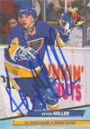 Kevin Miller St. Louis Blues 1993 Fleer Ultra Autographed Card. This item comes with a certificate of authenticity from Autograph-Sports. PSM-Powers Sports Memorabilia