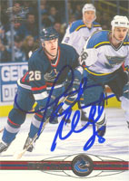 Trent Klatt Vancouver Canucks 2001 Pacific Autographed Card. This item comes with a certificate of authenticity from Autograph-Sports. PSM-Powers Sports Memorabilia