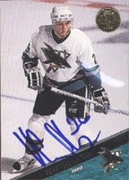 Vlastimil Kroupa San Jose Sharks 1993 Leaf Autographed Card - Rookie Card. This item comes with a certificate of authenticity from Autograph-Sports. PSM-Powers Sports Memorabilia