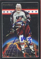 David Wilkie Team USA 1994 UD World Junior Championships Autographed Card - Rookie Card. This item comes with a certificate of authenticity from Autograph-Sports. PSM-Powers Sports Memorabilia
