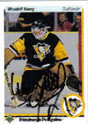 Wendell Young Pittsburgh Penguins 1990 Upper Deck Autographed Card. This item comes with a certificate of authenticity from Autograph-Sports. PSM-Powers Sports Memorabilia