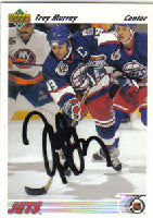 Troy Murray Winnipeg Jets 1991 Upper Deck Autographed Card. This item comes with a certificate of authenticity from Autograph-Sports. PSM-Powers Sports Memorabilia