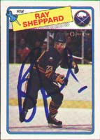 Ray Sheppard Buffalo Sabres 1988 Opee Chee Autographed Card - Rookie Card. This item comes with a certificate of authenticity from Autograph-Sports. PSM-Powers Sports Memorabilia