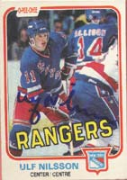 Ulf Nilsson New York Rangers 1981 Opee Chee Autographed Card. This item comes with a certificate of authenticity from Autograph-Sports. PSM-Powers Sports Memorabilia