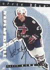 Derek King New York Rangers 1995 Be a Player Certified Autographed Card - Certified Autograph. This item comes with a certificate of authenticity from Autograph-Sports. PSM-Powers Sports Memorabilia