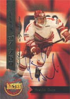 Yannick Dube Le Titan de Loval - Vancouver Canucks 1994 Signature Rookies Certified Autographed Card - Certified Autograph - Rookie Card. This item comes with a certificate of authenticity from Autograph-Sports. PSM-Powers Sports Memorabilia