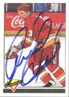 Frantisek Musil Calgary Flames 1993 Topps Premier Autographed Card. This item comes with a certificate of authenticity from Autograph-Sports. PSM-Powers Sports Memorabilia