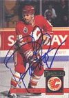 Paul Ranheim Calgary Flames 1994 Donruss Autographed Card. This item comes with a certificate of authenticity from Autograph-Sports. PSM-Powers Sports Memorabilia