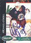 Michael O'Neill Winnipeg Jets 1993 Parkhurst Calder Candidate Autographed Card - Rookie Card. This item comes with a certificate of authenticity from Autograph-Sports. PSM-Powers Sports Memorabilia