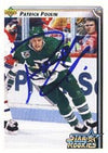 Patrick Poulin Hartford Whalers 1992 Upper Deck Star Rookie Autographed Card - Rookie Card. This item comes with a certificate of authenticity from Autograph-Sports. PSM-Powers Sports Memorabilia