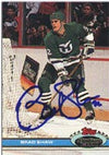 Brad Shaw Hartford Whalers 1991 Stadium Club Autographed Card. This item comes with a certificate of authenticity from Autograph-Sports. PSM-Powers Sports Memorabilia