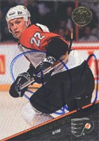 Viacheslav Butsayev Philadelphia Flyers 1993 Leaf Autographed Card - Rookie Card. This item comes with a certificate of authenticity from Autograph-Sports. PSM-Powers Sports Memorabilia