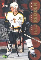 Wade Redden Brandon Wheat Kings - New York Islanders 1995 Classic 5 Sport Autographed Card - Rookie Card. This item comes with a certificate of authenticity from Autograph-Sports. PSM-Powers Sports Memorabilia
