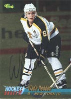 Wade Redden Brandon Wheat Kings - New York Islanders 1995 Classic Draft Pick Foil Autographed Card - Rookie Card. This item comes with a certificate of authenticity from Autograph-Sports. PSM-Powers Sports Memorabilia