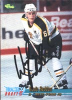 Wade Redden Brandon Wheat Kings - New York Islanders 1995 Classic Draft Pick Autographed Card - Rookie Card. This item comes with a certificate of authenticity from Autograph-Sports. PSM-Powers Sports Memorabilia