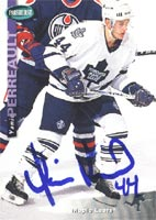 Yanic Perreault Toronto Maple Leafs 1993 Parkhurst Autographed Card - Rookie Card. This item comes with a certificate of authenticity from Autograph-Sports. PSM-Powers Sports Memorabilia