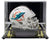 DeVante Parker Signed Miami Dolphins Mini Speed Replica Helmet w/Case JSA ITP PSM-Powers Sports Memorabilia