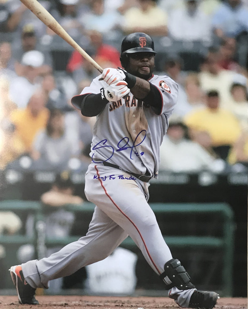 "Pablo Sandoval ""Kung Fu Panda"" Autographed San Francisco Giants 16x20 Photo PSM-Powers Sports Memorabilia"