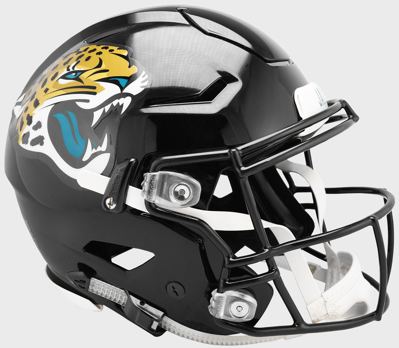 Jacksonville Jaguars SpeedFlex Football Helmet PSM-Powers Sports Memorabilia