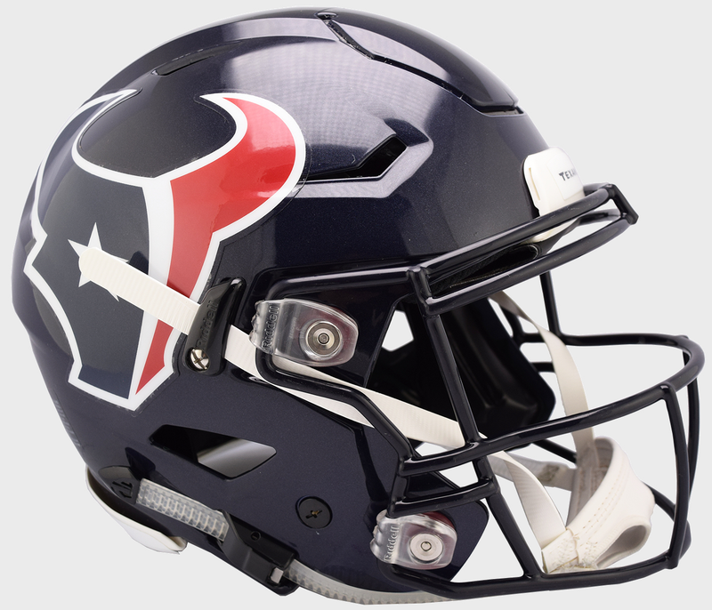 Houston Texans SpeedFlex Football Helmet PSM-Powers Sports Memorabilia