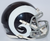 St. Louis Rams NFL Mini Speed Football Helmet B 2016 Color Rush Discontinued B PSM-Powers Sports Memorabilia