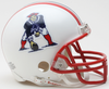New England Patriots 1990 to 1992 Riddell Mini Replica Throwback Helmet PSM-Powers Sports Memorabilia