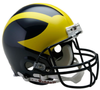 Michigan Wolverines Football Helmet B Painted Wings B PSM-Powers Sports Memorabilia