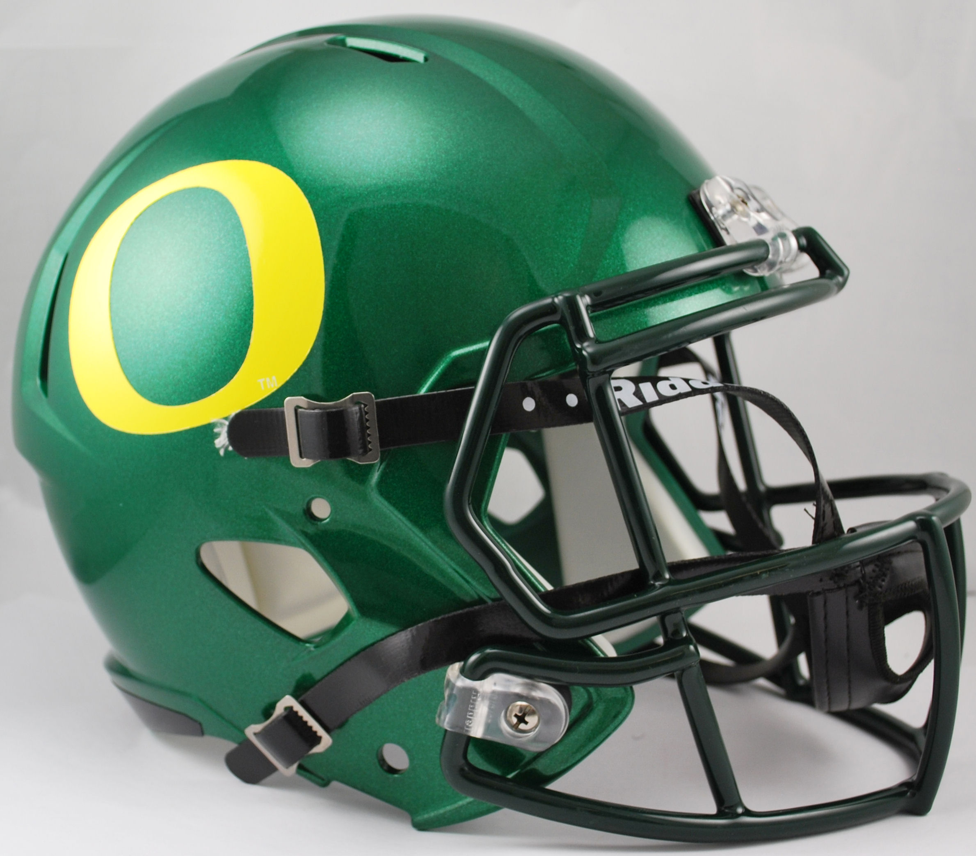 Oregon Ducks Speed Replica Football Helmet PSM-Powers Sports Memorabilia