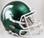 Michigan State Spartans Speed Replica Football Helmet B Satin Green B PSM-Powers Sports Memorabilia