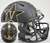 Vanderbilt Commodores NCAA Mini Speed Football Helmet B Matte Black w Anchor B PSM-Powers Sports Memorabilia