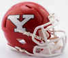 Youngstown State Penguins NCAA Mini Speed Football Helmet B B NEW 2017 B PSM-Powers Sports Memorabilia