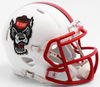 North Carolina State Wolfpack NCAA Mini Speed Football Helmet <B>NEW 2017 Tuffy</B> PSM-Powers Sports Memorabilia