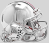 Ohio State Buckeyes NCAA Mini Chrome Speed Football Helmet B NEW 2018 Chrome B PSM-Powers Sports Memorabilia