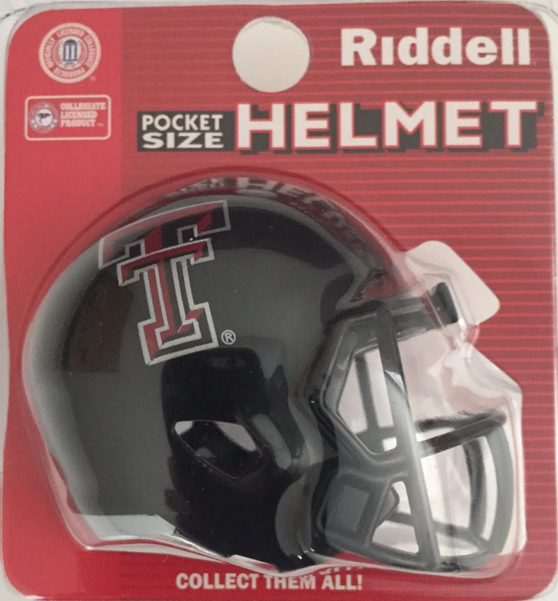 Texas Tech Red Raiders Pocket Pro Riddell PSM-Powers Sports Memorabilia