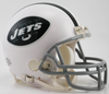 New York Jets 1965 to 1977 Riddell Mini Replica Throwback Helmet PSM-Powers Sports Memorabilia