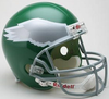 Philadelphia Eagles 1974 to 1995 Full Size Replica Throwback Helmet PSM-Powers Sports Memorabilia