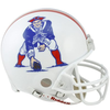 New England Patriots 1982 to 1989 Full Size Replica Throwback Helmet PSM-Powers Sports Memorabilia