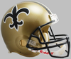 New Orleans Saints 1976 to 1999 Full Size Replica Throwback Helmet PSM-Powers Sports Memorabilia