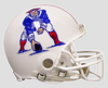 New England Patriots 1982 to 1989 Football Helmet PSM-Powers Sports Memorabilia
