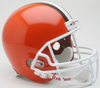 Cleveland Browns 1975 to 2005 Full Size Replica Throwback Helmet PSM-Powers Sports Memorabilia