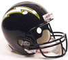 San Diego Chargers 1988 to 2006 Full Size Replica Throwback Helmet PSM-Powers Sports Memorabilia