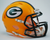 Green Bay Packers NFL Mini Speed Football Helmet PSM-Powers Sports Memorabilia