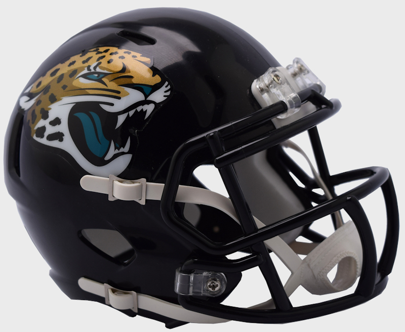 Jacksonville Jaguars NFL Mini Speed Football Helmet B NEW 2018 B PSM-Powers Sports Memorabilia