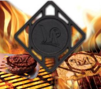 Milwaukee Brewers Pangea BBQ Meat Brander – MLB Team Logo PSM-Powers Sports Memorabilia