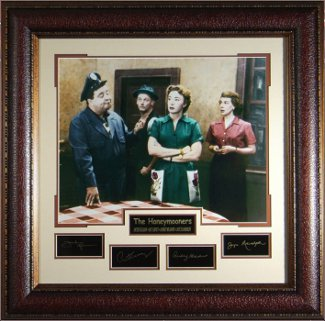 The Honeymooners unsigned 31x32 Cast Photo Engraved Signature Series PSM-Powers Sports Memorabilia